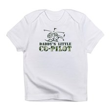 Daddy's Co-Pilot Heli Infant T-Shirt