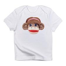 Sock Monkey Cherry Infant T-Shirt