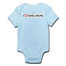 I Love Camel Racing Infant Creeper