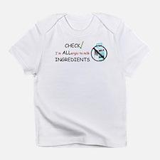 Milk Allergy Infant T-Shirt