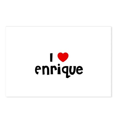 I * Enrique Postcards (Package of 8)