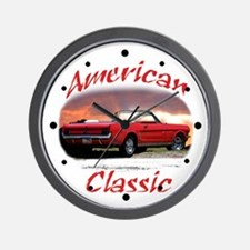 Ford mustang Wall Clock