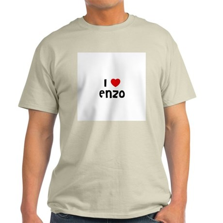 I * Enzo Ash Grey T-Shirt