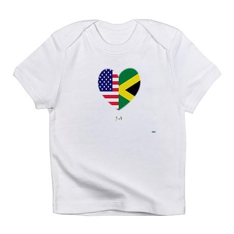 Jamaican-American Infant T-Shirt
