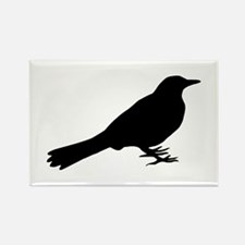 Blackbird Rectangle Magnet