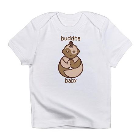 Om Buddha Baby : Flesh Tones Infant T-Shirt