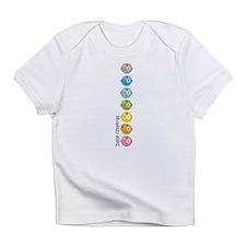 Baby Chakras Rainbow Infant T-Shirt