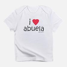 i love abuela Infant T-Shirt