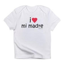 i love mi madre Infant T-Shirt