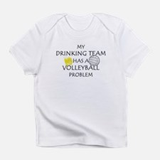 Drinking team has volleyball Infant T-Shirt