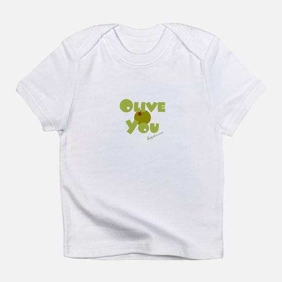 """""""Olive You"""" sm Olive - / Onesie Infant T-Shirt"""