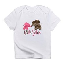Little Sister Elephant Infant T-Shirt