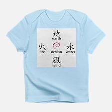 Elements of Debian Infant T-Shirt
