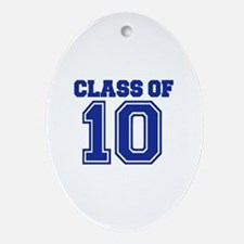 Class of 2010 Ornament (Oval)