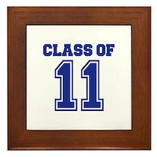 Class of 2011 Framed Tile