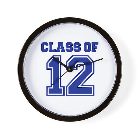 Class of 2012 Wall Clock