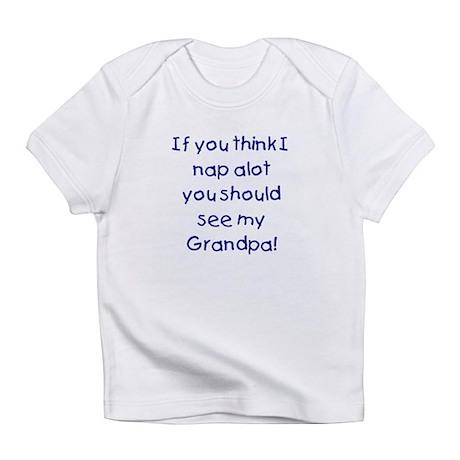 Grandpa nap -blue Infant T-Shirt
