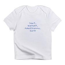 Asked Grammy Blue Infant T-Shirt