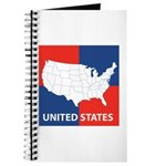 United States Map on 4 Square Journal