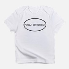 PEANUT BUTTER CUP (oval) Infant T-Shirt
