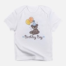 Birthday Boy Party Bear Onesie Infant T-Shirt