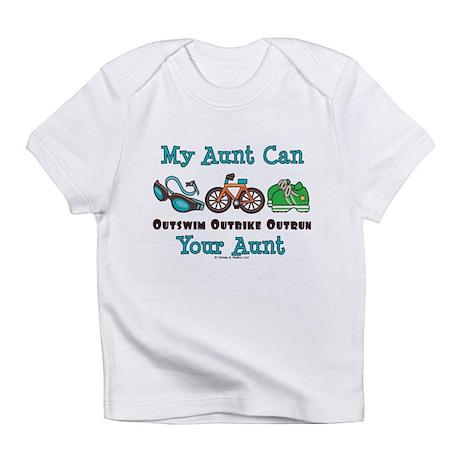 Aunt Triathlete Triathlon Infant T-Shirt