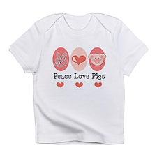 Peace Love Pigs Infant T-Shirt
