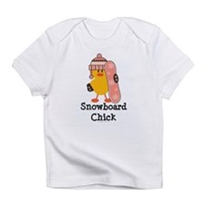 Snowboard Chick Infant T-Shirt