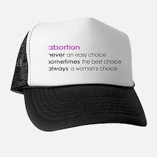 Abortion Choice Trucker Hat