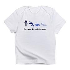 Future Breakdancer blues Infant T-Shirt
