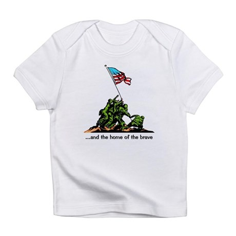 and the home of the brave Infant T-Shirt