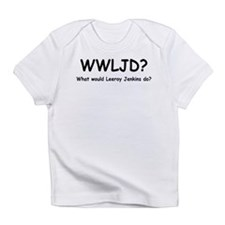 Leeroy Jenkins (B&W) Infant T-Shirt