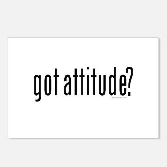 got attitude? by Danceshirts.com Postcards (Packag