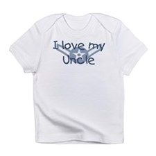 E2 USAF I love my uncle blue Infant T-Shirt