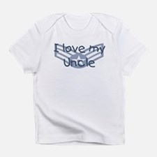 E4 USAF I love my uncle blue Infant T-Shirt