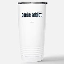 Cache Addict Stainless Steel Travel Mug