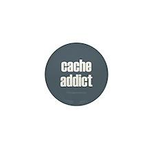 Cache Addict Mini Button (10 pack)