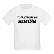 Rather be Hiking Kids T-Shirt