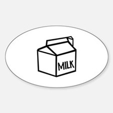 Milk Sticker (Oval)