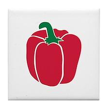 Bell pepper Tile Coaster