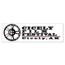 Cicely Film Festival Car Sticker