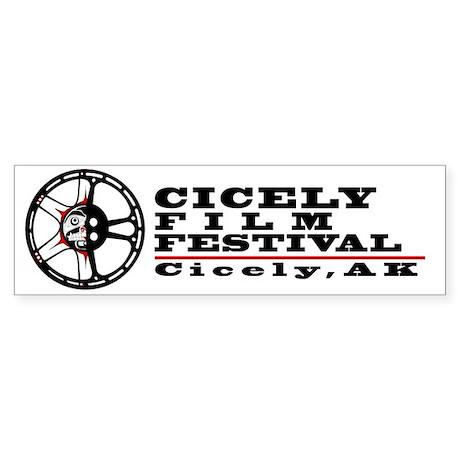 Cicely Film Festival Sticker (Bumper)