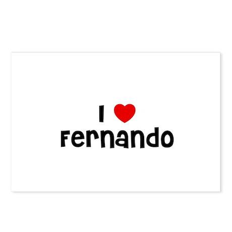 I * Fernando Postcards (Package of 8)
