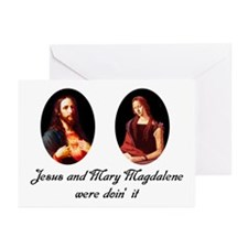 Jesus and Mary Magdalene Were Greeting Cards (Pack