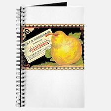 Funny Vintage fruit labels Journal