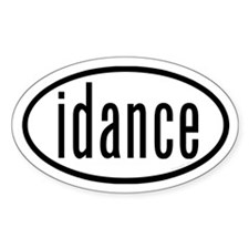 Dance Euro Stickers by Dances Decal