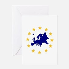 Europe Greeting Card