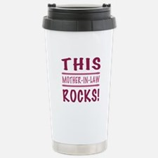 This Mother-In-Law Rocks Travel Mug