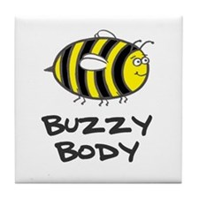 'Buzzy Body' Tile Coaster