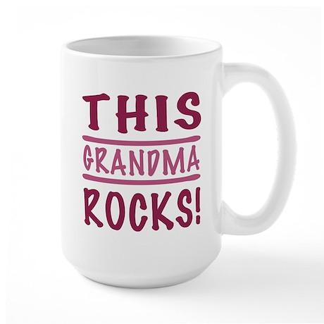 This Grandma Rocks Large Mug
